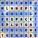Soupe de Lettres de l'espace
