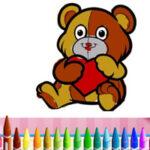 Coloriage des animaux de la Saint-Valentin