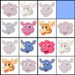 Sudoku 4×4 Animaux