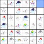 Sudoku des Bonshommes de Neige