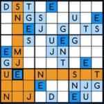 Sudoku en ligne avec des lettres: Wordoku