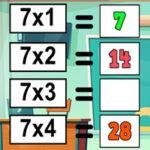 Pratique des tableaux interactifs de Multiplication