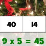 Tables de Multiplication de Noël