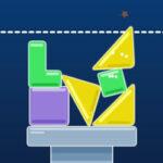 Tour d'équilibre avec des Formes Géométriques