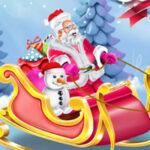 Dessiner le traîneau du Père Noël