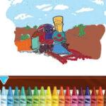 Coloration des trains