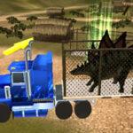 Conduire un Camion de Transport de Dinosaures