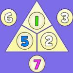 Triangle d'addition jusqu'à 10