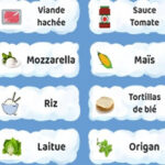 Trier les ingrédients: Recettes du Monde