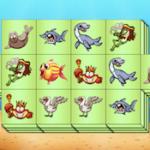 Triple Mahjong des Animaux Aquatiques