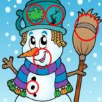 Trouver des Différences chez les Bonshommes de neige