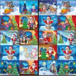 Trouver différents dessins de Noël