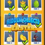 Trouver des objets de Pâques