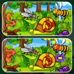 Trouvez les Différences: Insectes