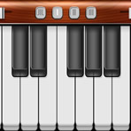 Clavier de piano virtuel