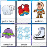 Vocabulaire de l'hiver en Anglais