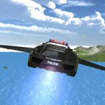 Voiture de Police Volante