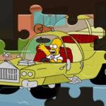 Les voitures d'Homer: Puzzles