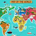 Puzzle de la Carte du Monde