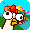 Traverser la rue avec les poulets