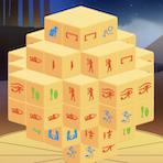 Mahjong égyptien en 3D