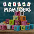 Mahjong avec les lettres de l'alphabet